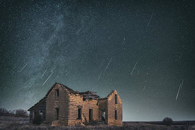 Royalty-Free and Rights-Managed Images - Sylvan Grove Meteors by Darren White