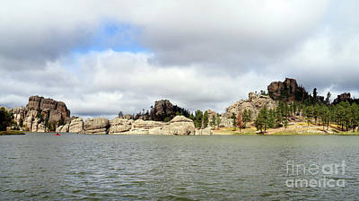 Space Photographs Of The Universe - Sylvan Lake South Dakota  9063 by Jack Schultz