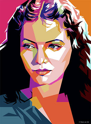 Pop Art Rights Managed Images - Sylvia Sidney Royalty-Free Image by Stars on Art