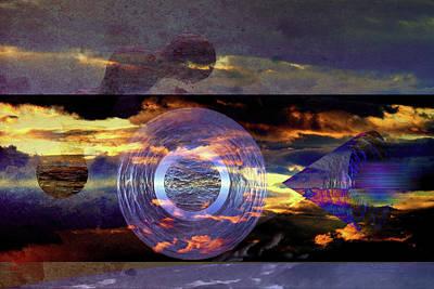 Digital Art - Syncronicity by Mike Braun