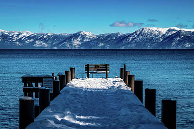 Royalty-Free and Rights-Managed Images - Tahoe Dock by Clinton Ward
