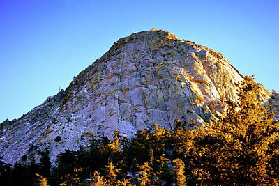 Lovely Lavender - Tahquitz Peak In The Late Sunshine by Glenn McCarthy Art and Photography