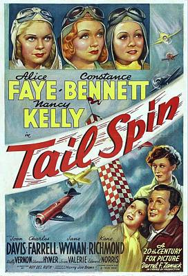 Royalty-Free and Rights-Managed Images - Tail Spin, with Alice Faye and Constance Bennett, 1939 by Stars on Art