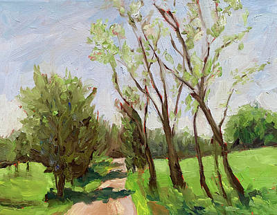 Painting - Take Me Home, Crozier Road by Bart Levy