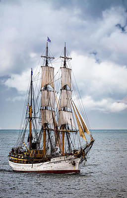 Queen - Tall Ship Picton Castle by Dale Kincaid