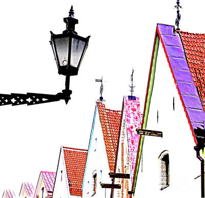 Book Quotes - Tallinn - A close up of its roofs by ParaKrytous P