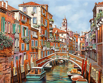 Royalty-Free and Rights-Managed Images - Tanta Venezia by Guido Borelli
