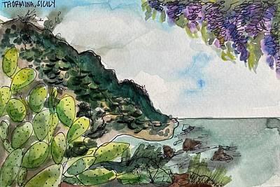 Painting - Taormina  by Meredith Palmer
