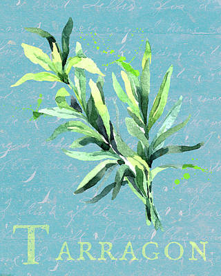 Priska Wettstein Pink Hues - Tarragon the Herb by Brandi Fitzgerald