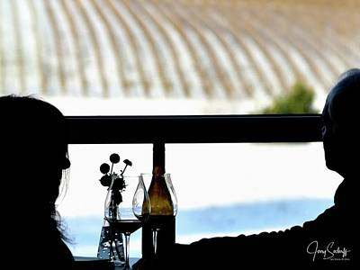 Jerry Sodorff Royalty-Free and Rights-Managed Images - Tasting Wine DS by Jerry Sodorff