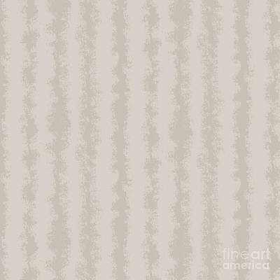 Mixed Media Royalty Free Images - Taupe Grey Stripe Abstract Royalty-Free Image by Amanda Jane