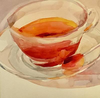 Painting - Tea Time  by Jo Mackenzie