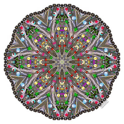 Digital Art - Teddy Bear Tears 822k8 by Brian Gryphon