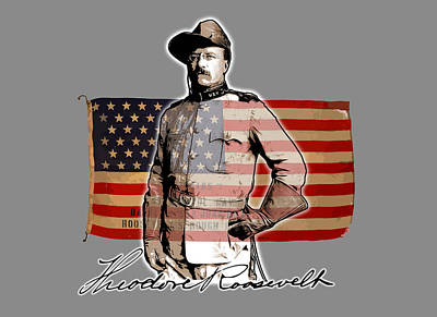 Royalty-Free and Rights-Managed Images - Teddy Roosevelt by Greg Joens