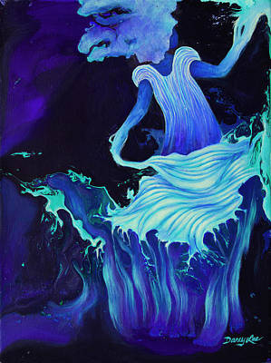 Painting - Tempest by Darcy Lee Saxton