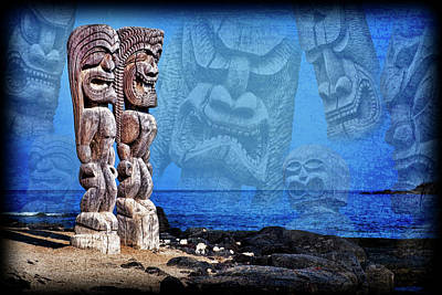 Photograph - Temple of the Tiki by Kelley King