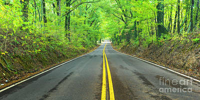 Photograph - Tennessee backroad Panorama by Ranjay Mitra