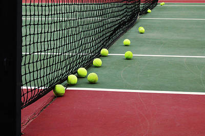 Sports Royalty-Free and Rights-Managed Images - Tennis balls by Lowe Llaguno