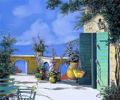 Truck Art - Terrazza Verde by Guido Borelli