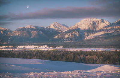 Bringing The Outdoors In - Teton Moon by Darren White