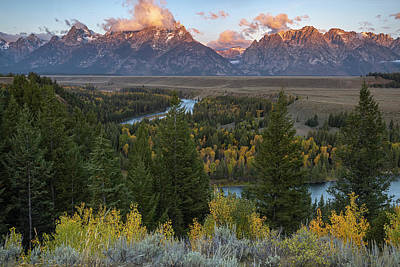 Photograph - Teton Sunrise by Jennifer Grover