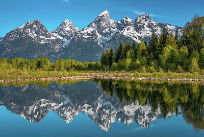Royalty-Free and Rights-Managed Images - Tetons in Color by Darren White
