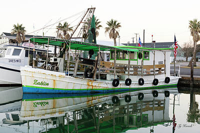 Open Impressionism California Desert Royalty Free Images - Texas Oyster Boat Royalty-Free Image by Ty Husak