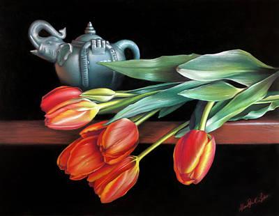 Painting - Thai Tea by Melanie Stimmell Van Latum