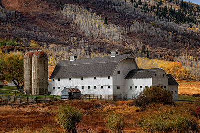 Photograph -  That Barn by Dave Koch