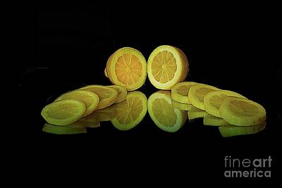 Still Life Drawings - That Lemony Feeling by Arnie Goldstein