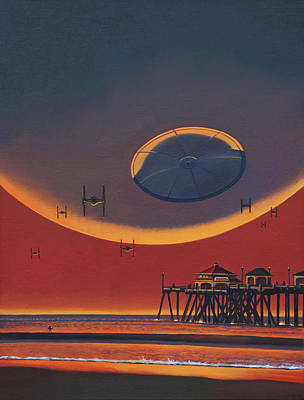 Painting - Thats No Moon by Cliff Wassmann