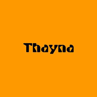 Digital Art - Thayna by TintoDesigns