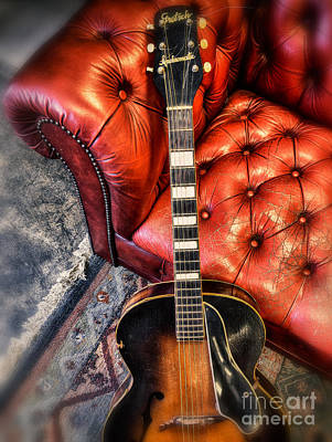 Photograph - The Archtop by Steven Digman