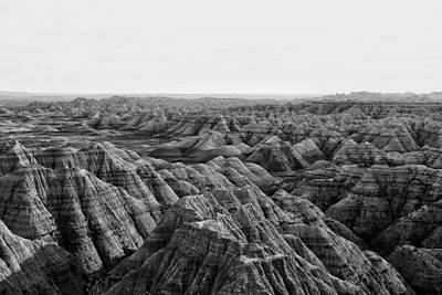 Photograph - The Badlands by Cameron Dixon