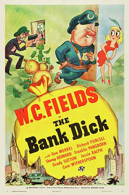 Royalty-Free and Rights-Managed Images - The Bank Dick, with W.C. Fields, 1940 by Stars on Art