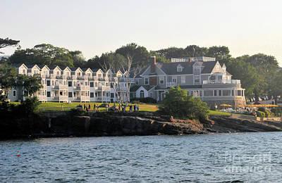 Claude Monet - The Bar Harbor Inn  by John Stone