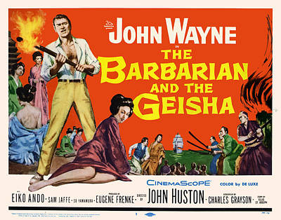 Royalty-Free and Rights-Managed Images - The Barbarian and the Geisha, with John Wayne, 1958 by Stars on Art