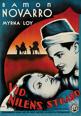 Royalty-Free and Rights-Managed Images - The Barbarian, with Ramon Novarro and Myrna Loy, 1933 by Stars on Art