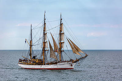 Queen - The Barque Tall Ship Picton Castle by Dale Kincaid