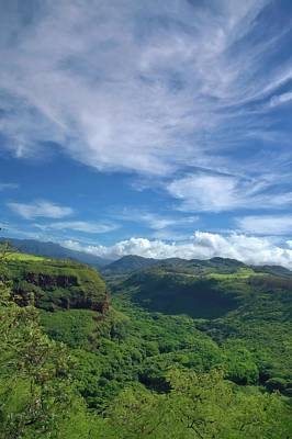 Graduation Hats - The Base of Waimea Canyon Kauai by Heidi Fickinger