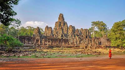 From The Kitchen - The Bayon at Angkor Wat by Rob Hemphill