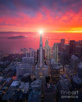 Photograph - The Beacon by Heyengel