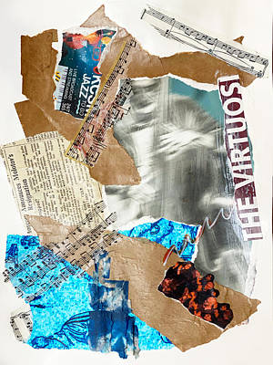 Mixed Media - The Beat Goes On by Jessica Levant