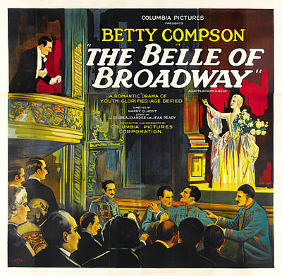 Royalty-Free and Rights-Managed Images - The Belle of Broadway, with Betty Compson, 1926 by Stars on Art