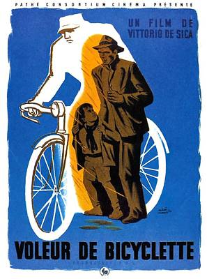 Royalty-Free and Rights-Managed Images - The Bicycle Thief - 1948 by Stars on Art