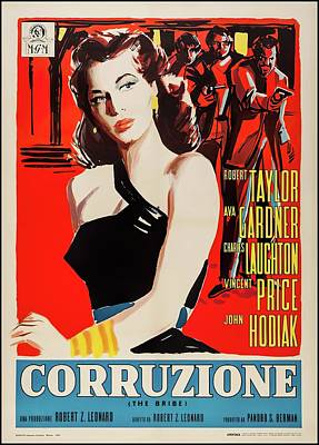 Royalty-Free and Rights-Managed Images - The Bribe, with Robert Taylor and Ava Gardner, 1949 by Stars on Art