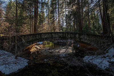 Photograph - The Bridge over Yosemite Creek by Bipul Haldar