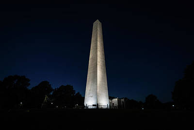 Typography Tees - The Bunker Hill Monument by Jon Bilous
