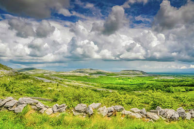 Wild Weather - The Burren by Rob Hemphill