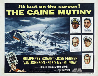Halloween Movies - The Caine Mutiny -1954 by Stars on Art